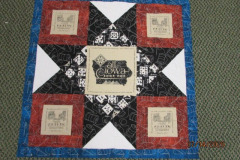 2020 AISH Fabric project by Treasured Quilting