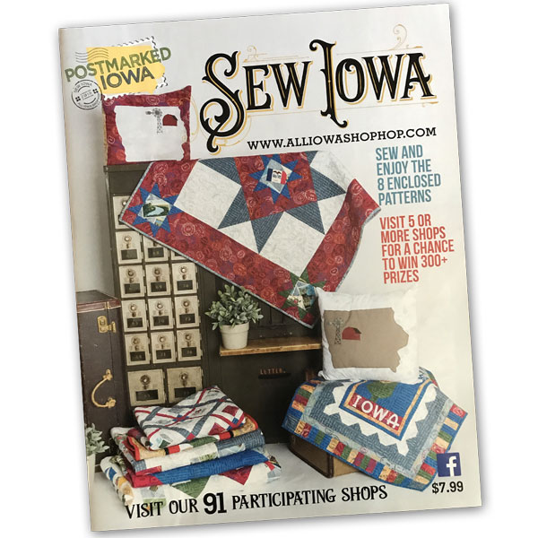 2018 All Iowa Shop Hop magazine